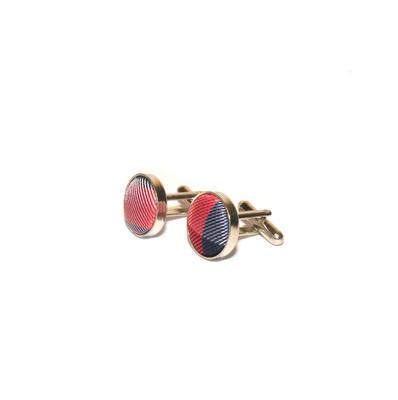 Luxusní set modro červený vzor - 2