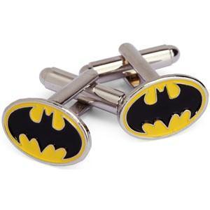 Manžetové knoflíčky Batman žluté - 3