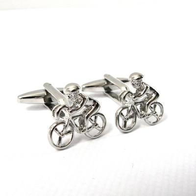 Manžetové knoflíčky cyklista - 3