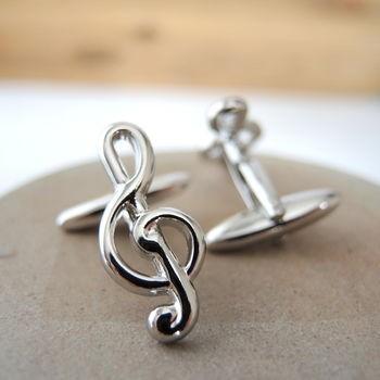 Manžetové knoflíčky houslový klíč - 3